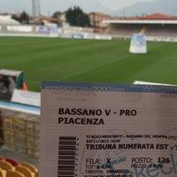 Photo taken at Stadio Velodromo Rino Mercante by Mauro F. on 11/4/2015