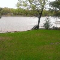 Photo taken at Little Island Lake by Pam U. on 5/23/2013