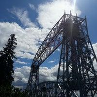 Photo taken at Duluth Lift Bridge by Cory G. on 7/24/2013