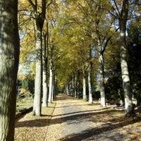 Photo taken at Neuer Friedhof by Manuel H. on 10/11/2015