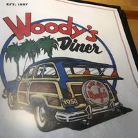 Photo taken at Woody's Diner by Todd K. on 3/19/2017
