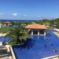 Photo taken at Romanos Costa Navarino Pool by Eirini P. on 9/11/2016