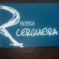 Photo taken at Retífica Cerqueira by Rafael Henrique F. on 5/18/2013