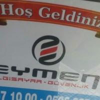 Photo taken at Eymen Bilgisayar ve Güvenlik by Abdullah on 6/16/2016