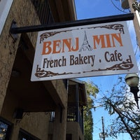 Photo taken at Benjamin's French Bakery Cafe by Aaron P. on 2/3/2014