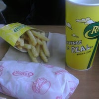 Photo taken at Runza by Crystal W. on 2/10/2013