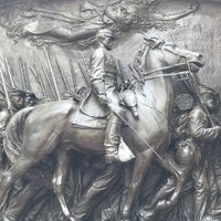 Photo taken at Robert Gould Shaw Memorial by Kevin C. on 5/30/2017