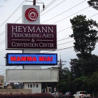 Photo taken at The Heymann Performing Arts Center by Kevin C. on 10/21/2013