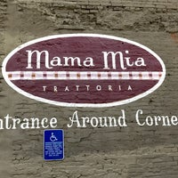 Photo taken at Mama Mia Trattoria by Kevin C. on 3/25/2017