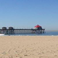 Photo taken at Huntington Beach Pier by Kevin C. on 4/19/2013