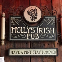 Photo taken at Molly's Irish Pub & Restaurant by Kevin C. on 1/17/2015