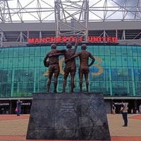 Photo taken at Old Trafford by PPPY on 6/16/2013