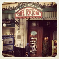 Photo taken at Gran Café Tortoni by Fernando A. on 6/15/2013