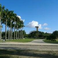Photo taken at Jardim do MAM by Marina F. on 10/9/2013