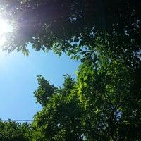 Photo taken at Ddd backyard time by Danielle L. on 7/13/2014
