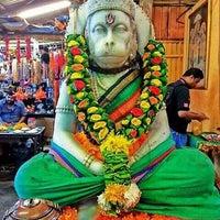 Photo taken at Sree Veera Hanuman Temple by Vijay K. on 5/21/2016