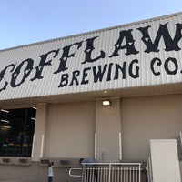 Photo taken at Scofflaw Brewing Co. by Timber on 3/9/2017