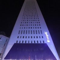Photo taken at Radisson Blu Hotel by Aydın Ö. on 5/31/2013