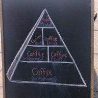 Photo taken at Bourbon Coffee DC by Ashley H. on 4/10/2013