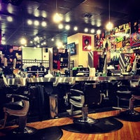 Photo taken at Floyd's 99 Barbershop by Kris M. on 3/14/2013