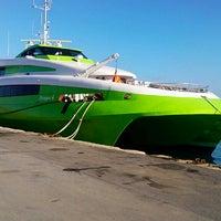 Photo taken at Port of Heraklion by Eugene K. on 5/13/2013