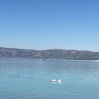 Photo taken at Yeşilova Halk Plajı by Şule K. on 9/15/2017