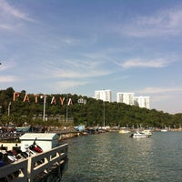 Photo taken at Bali Hai Pier by T. K. on 12/30/2012