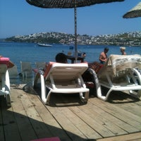 Photo taken at Butik Han Beach Otel by Sümeyra D. on 7/8/2013