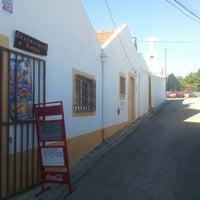 Photo taken at Restaurante Rampa Do Pragal by Joao F. on 11/14/2013
