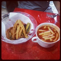 Photo taken at 신전떡볶이 by Kevin K. on 7/28/2013