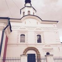 Photo taken at Храм Усекновения главы Иоанна Предтечи под Бором by Alexander W. on 9/9/2015
