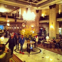 Photo taken at The Roosevelt Hotel by Pili B. on 2/12/2013
