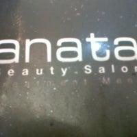 Photo taken at Anata Salon by Vina V. on 5/9/2013