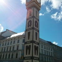 Photo taken at Laimas Pulkstenis   Laima clock by Denis D. on 6/16/2013
