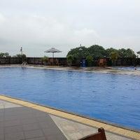 Photo taken at Total E&P Indonesie Swimming Pool by Anita R. on 6/9/2013