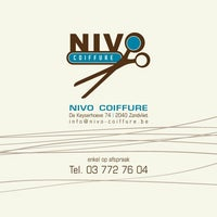 Photo taken at Nivo Coiffure by Dave C. on 5/21/2013