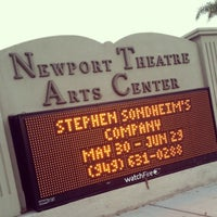 Photo taken at newport theatre arts center by James G. on 5/31/2014