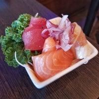 Photo taken at Sushi Tomo by James G. on 5/3/2017