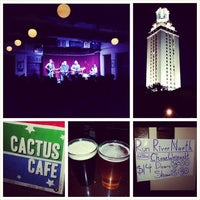 Photo taken at Cactus Cafe by James G. on 7/17/2014