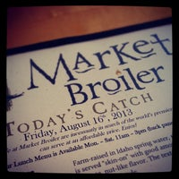 Photo taken at Market Broiler by James G. on 8/17/2013