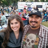 Photo taken at Broadway in the Park by James G. on 8/24/2014