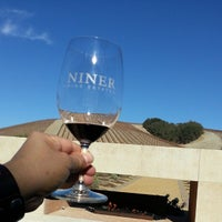 Photo taken at Niner Wine Estates by James G. on 11/27/2013