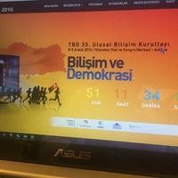 Photo taken at TBD Türkiye Bilişim Derneği by Fokus Akademi on 10/17/2016