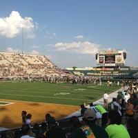 Photo taken at Floyd Casey Stadium by Jacob V. on 8/31/2013
