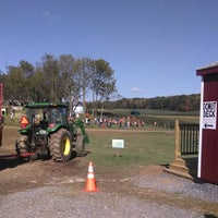 Photo taken at Gaver Farm by Andrew P. on 10/20/2013