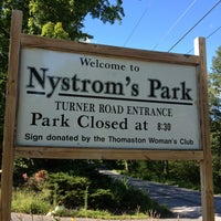Photo taken at Nystroms Park by Jessica J. on 8/11/2013