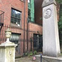 Photo taken at John Hancock Grave by Sarah E. on 8/15/2018