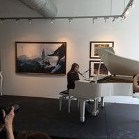 Photo taken at Yves Laroche Galerie D'Art by Benoît G. on 4/24/2014