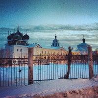 Foto scattata a Успенский Трифонов монастырь da Dasha S. il 3/1/2013