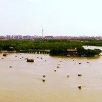 Photo taken at 昆明湖 Kunming Lake by Licia M. on 8/19/2013